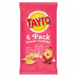 Tayto Crisps 6 x 25g  Prawn Cocktail